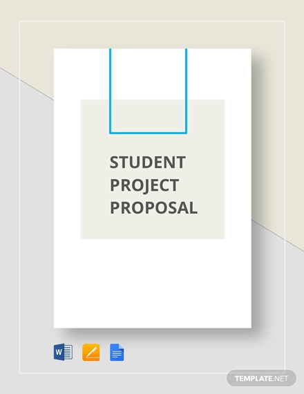 11+ Student Project Proposal Examples - PDF, Word | Examples