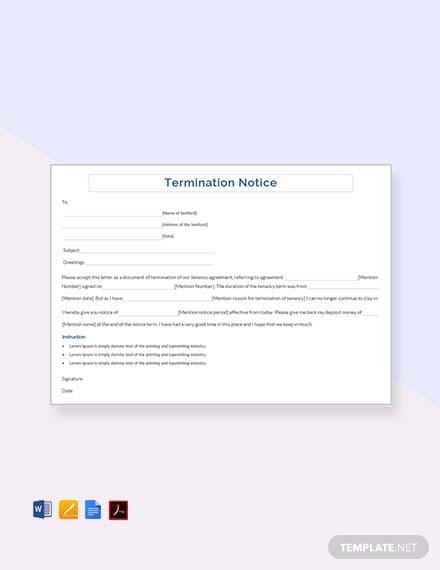termination notice1