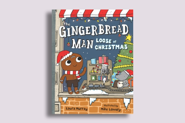 the gingerbread man book cover