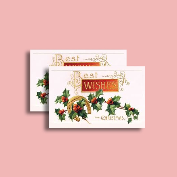 trinity college best wishes greeting card