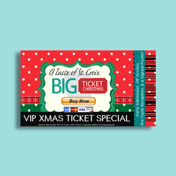 vip christmas ticket special