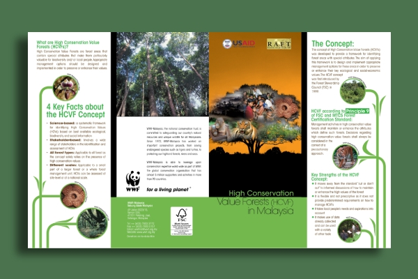 wwf high conservation value forests brochure