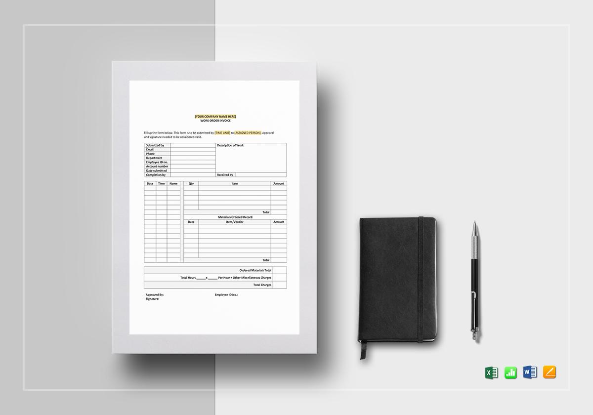 work order invoice1