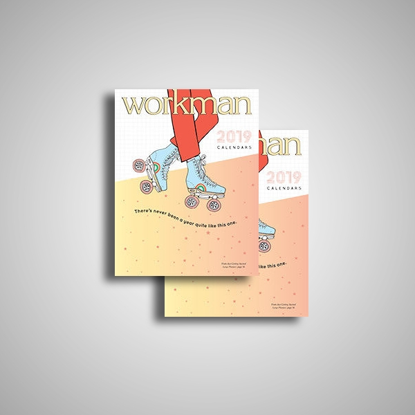 workman calendar catalog