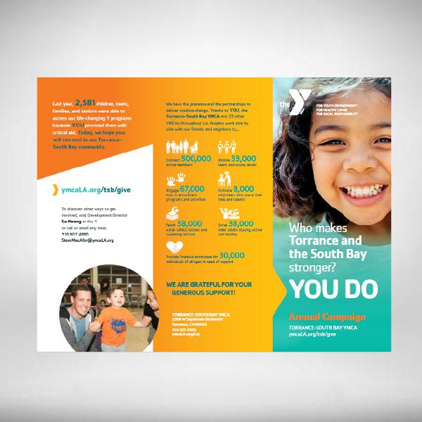 ymca campaign brochure