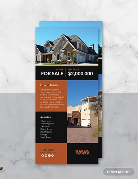 15+ Best Real Estate Rack Card Examples & Templates ...