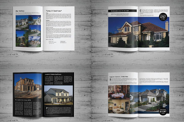 8real estate product catalog template