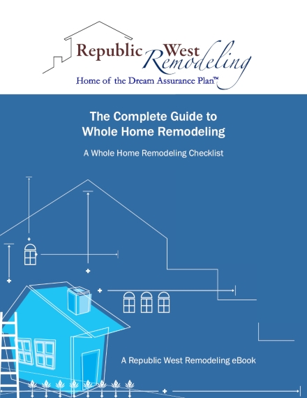 a whole home remodeling checklist