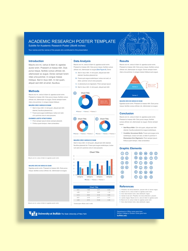 academic research poster