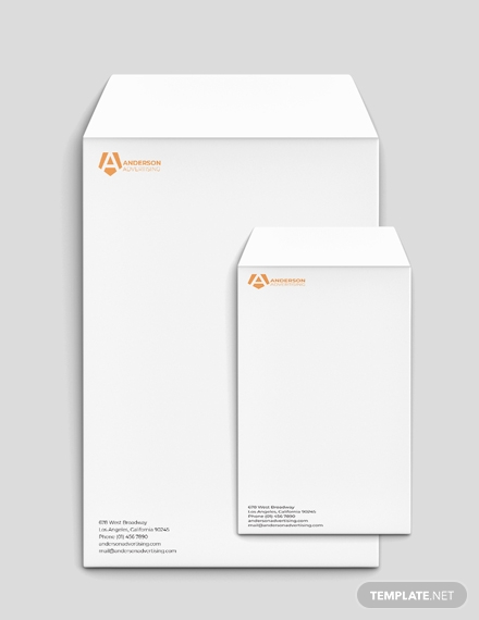 advertising agency envelope
