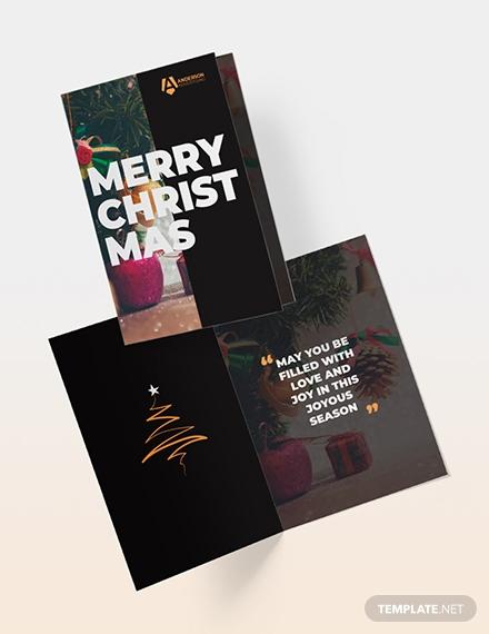 advertising agency greeting card2