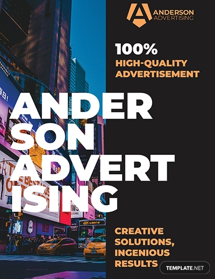advertising agency poster