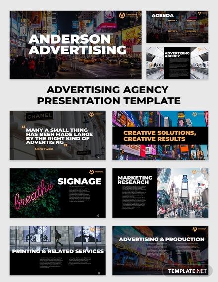 advertising agency presentation