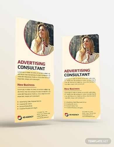advertising consultant rack card