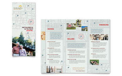 agent and realtor real estate brochure