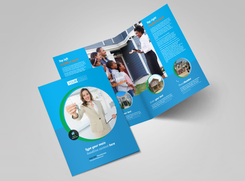 agent real estate listing brochure template
