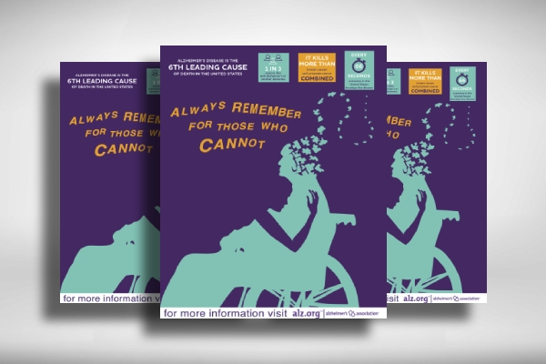 alzheimers disease awareness medical poster