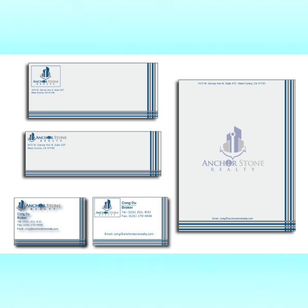 anchor stone realty stationery