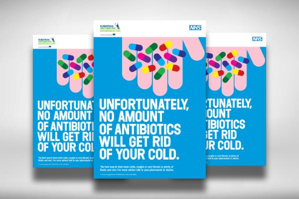 antibiotic awareness day medical poster