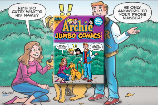 archie jumbo comics digest 282