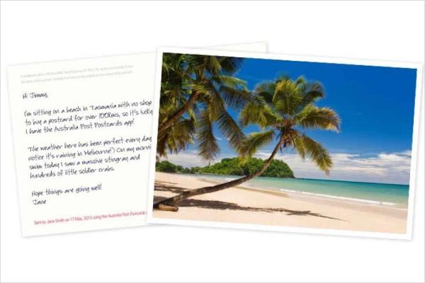 australia post postcard1