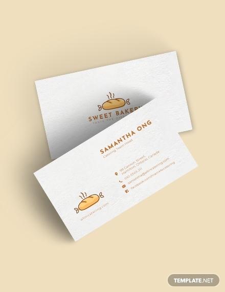 bakery business card1