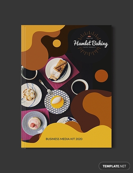 baking business media kit