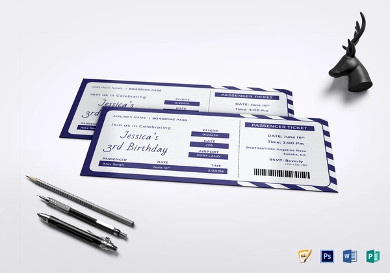 birthday boarding pass invitation ticket2