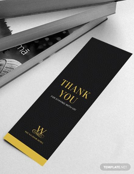 blank bookmark template 41