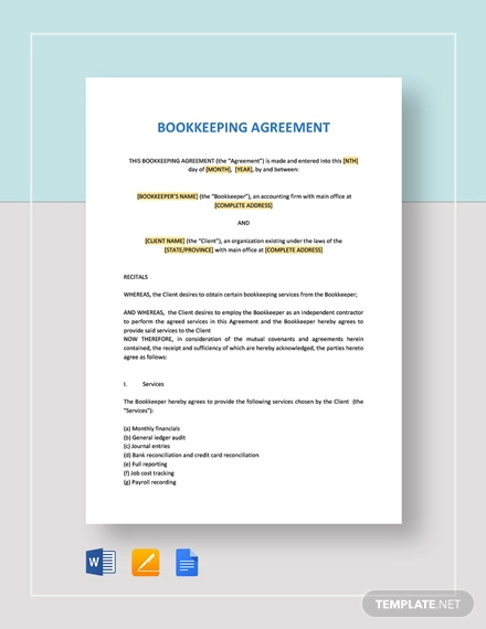 12+ Bookkeeper Confidentiality Agreement Examples - DOC, PDF