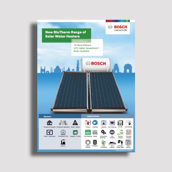 bosch flat plate collector system brochure
