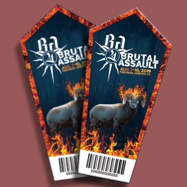 brutal assault festival ticket