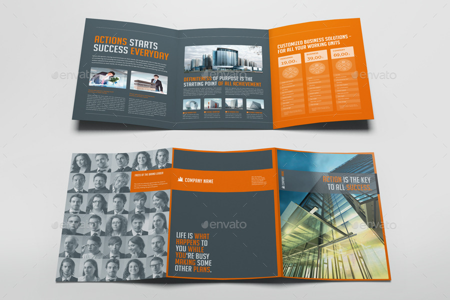 business trifold real estate listing brochure template1