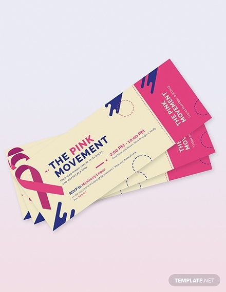 cancer fundraiser ticket
