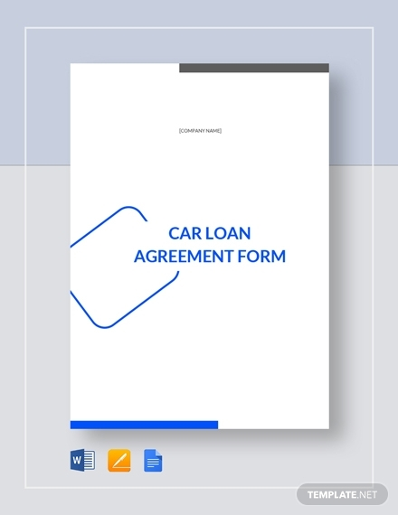 car loan agreement form 31