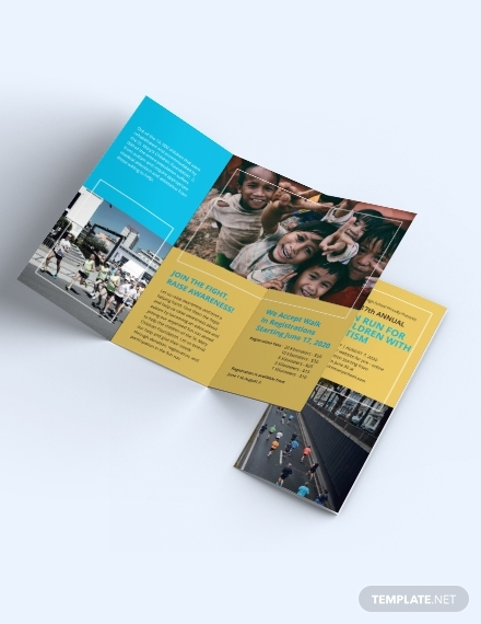 charity event brochure