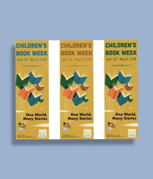 childrens book week bookmark