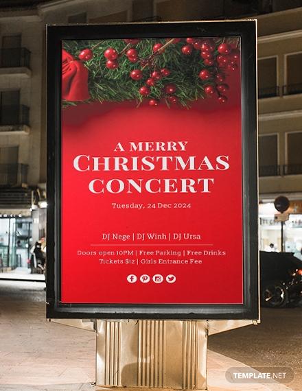 christmas digital signage
