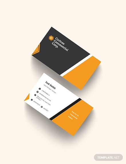 commercial real estate property business card