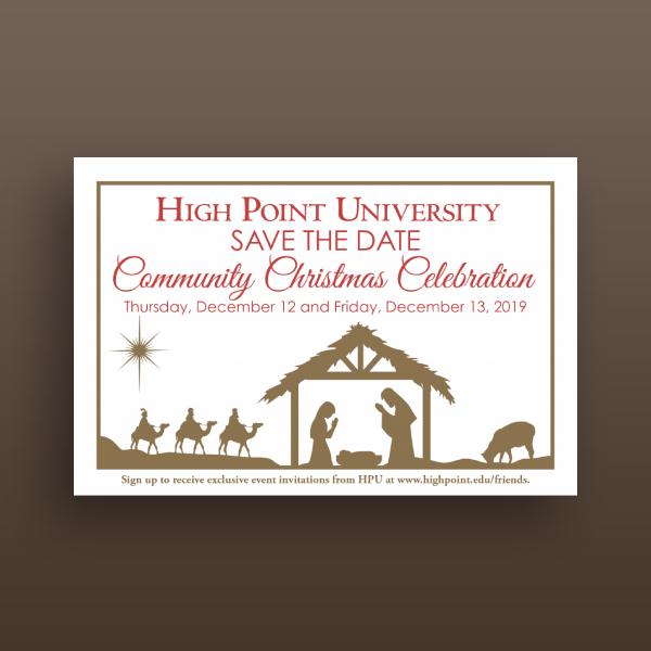 community christmas celebration invitation