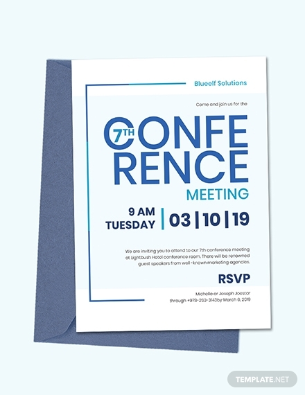 conference meeting invitation
