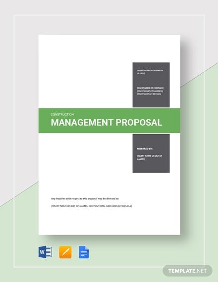 construction management proposal template1