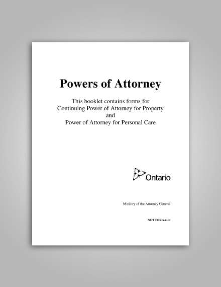 continuing power of attorney for property