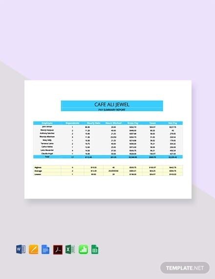 corporate pay stub sheet template