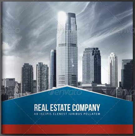 corporate real estate brochure template1