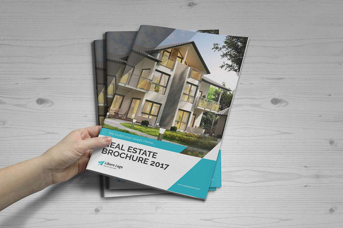 creative real estate property brochure template