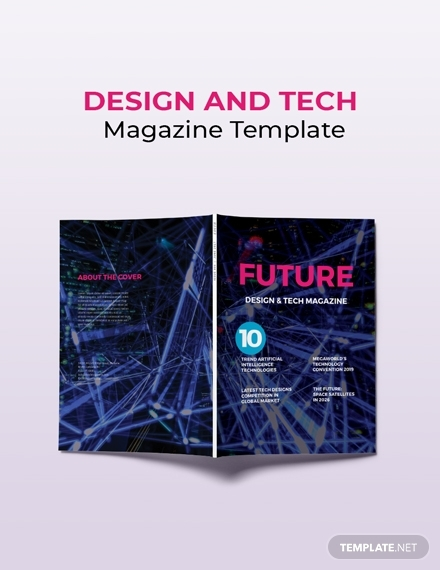design and tech magazine