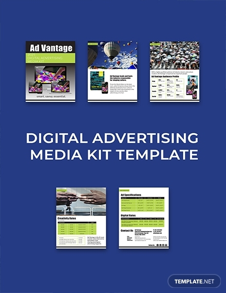 digital advertising media kit