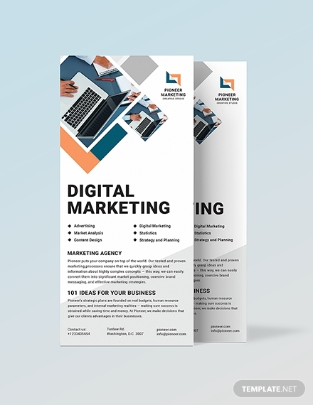 digital marketing agency rack card