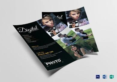 digital photography flyer1